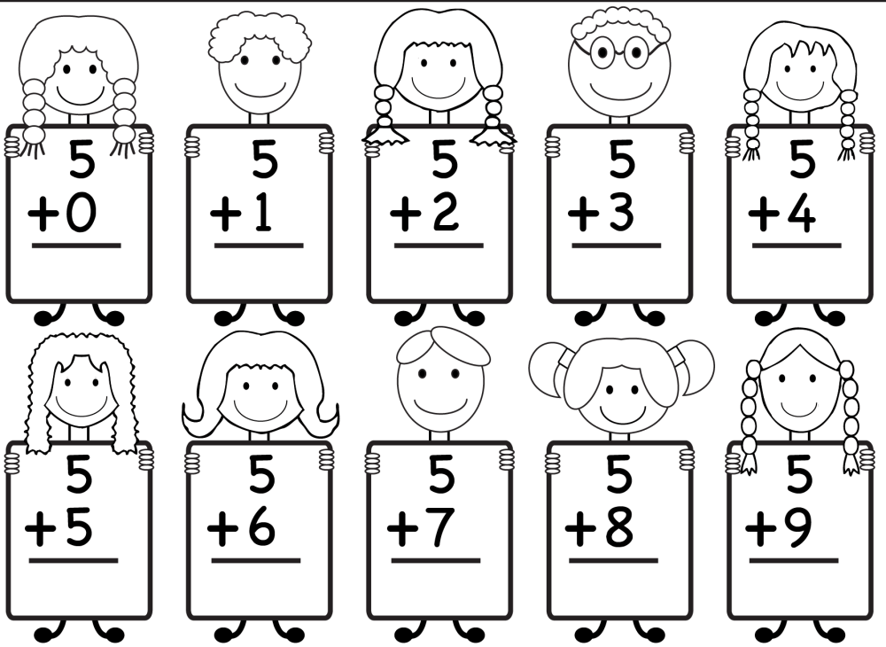 medium resolution of Free Printable Kindergarten Math Worksheets