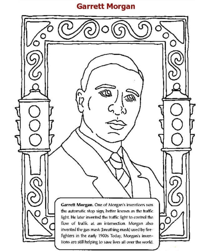 20 Free Printable Black History Month Coloring Pages