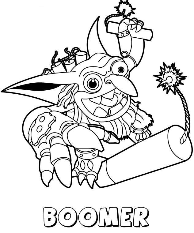 Boomer Skylanders