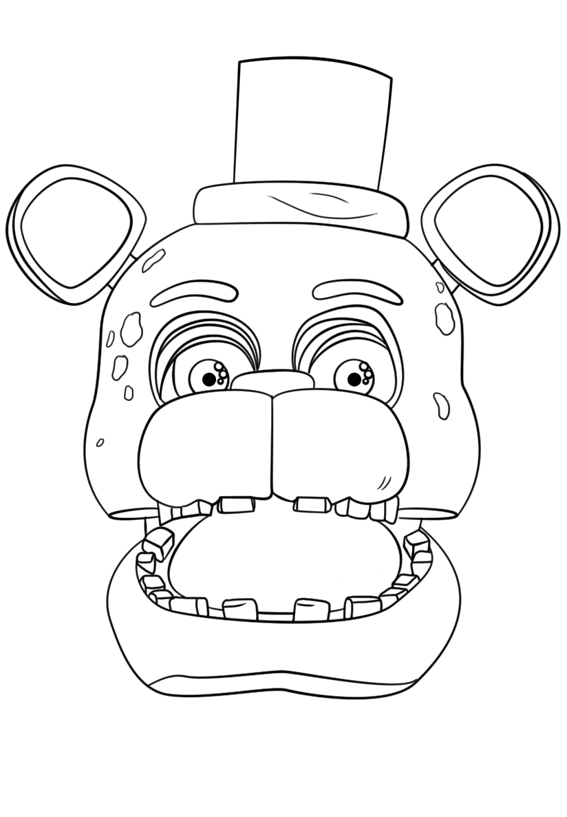 photograph relating to Five Nights at Freddy's Coloring Pages Printable referred to as 20+ Freddy Coloring Internet pages Towards Print Guidelines and Strategies