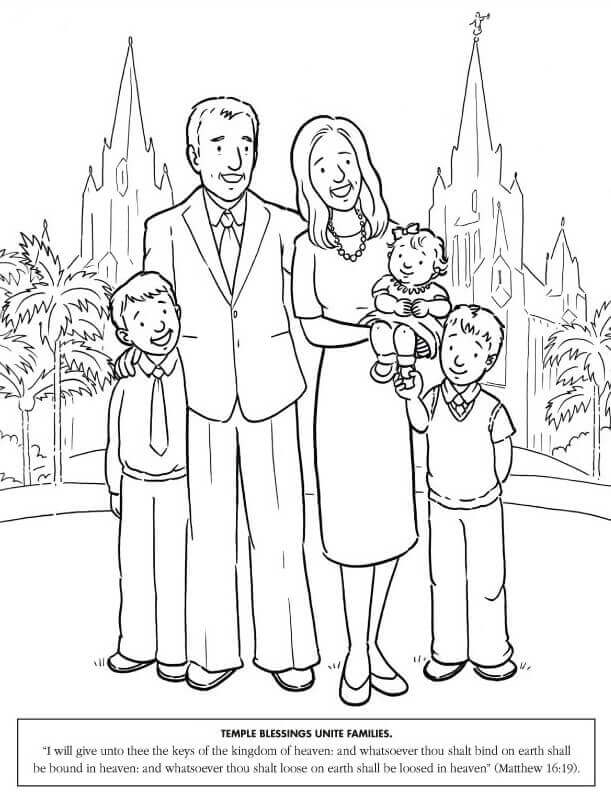 Lds First Vision Coloring Pages
