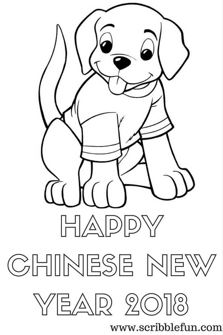Chinese New Year 2020 Printable Coloring Pages Muycsn Mosnewyear Site