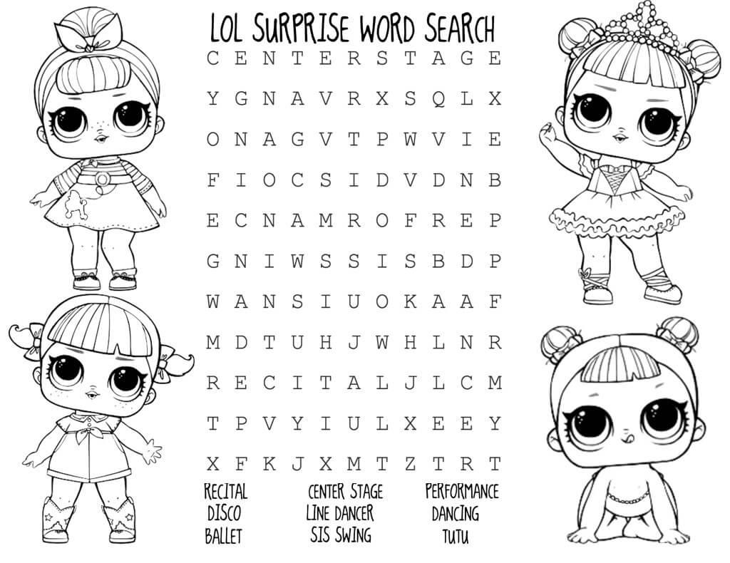 Dolls Printables Worksheet
