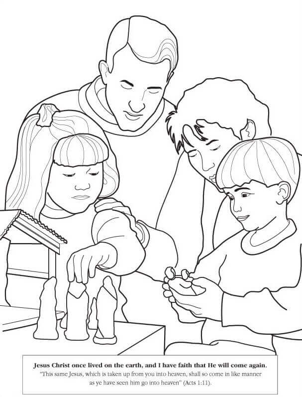 Latter Day Saints (LDS) Coloring Pages