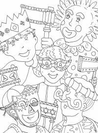 Free Mardi Gras Coloring Sheets Free Printable Mardi Gras