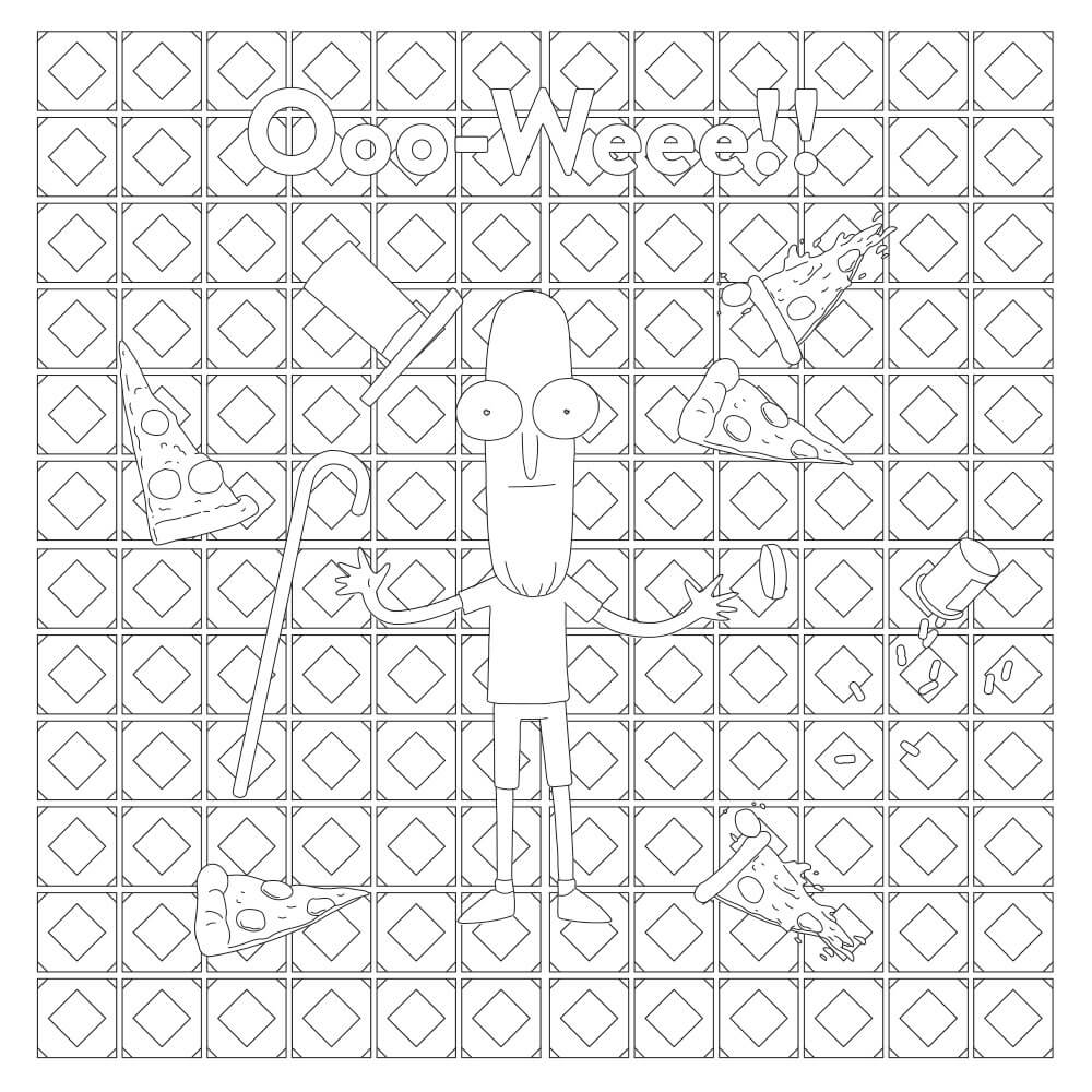 Oscar Lego Friends Coloring Pages Printable