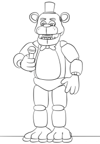 √ Five Nights At Freddy's Coloring Pages Online | Five ...