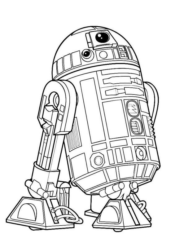 Free Printable Star Wars The Last Jedi Coloring Pages