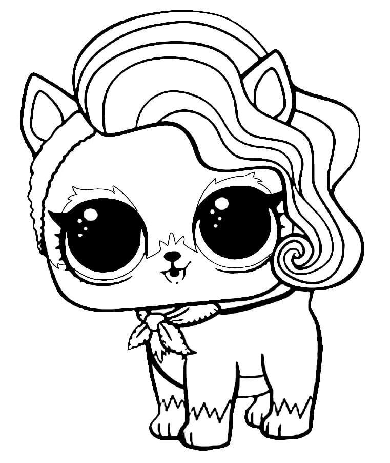 Lol Surprise Biggie Pets Neon Kitty