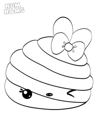 Num Noms Coloring Sheets Pages Sketch Coloring Page