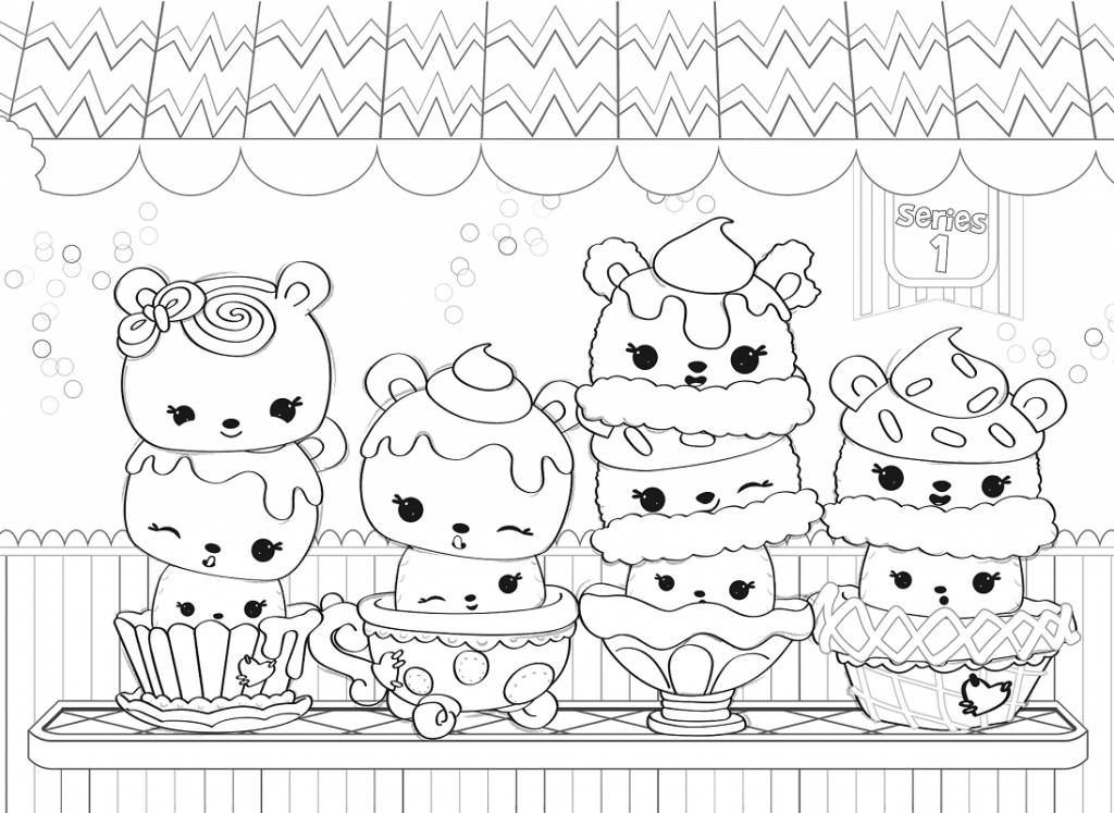 coloring pages of squishies | Squishies Coloring Pages Coloring Pages