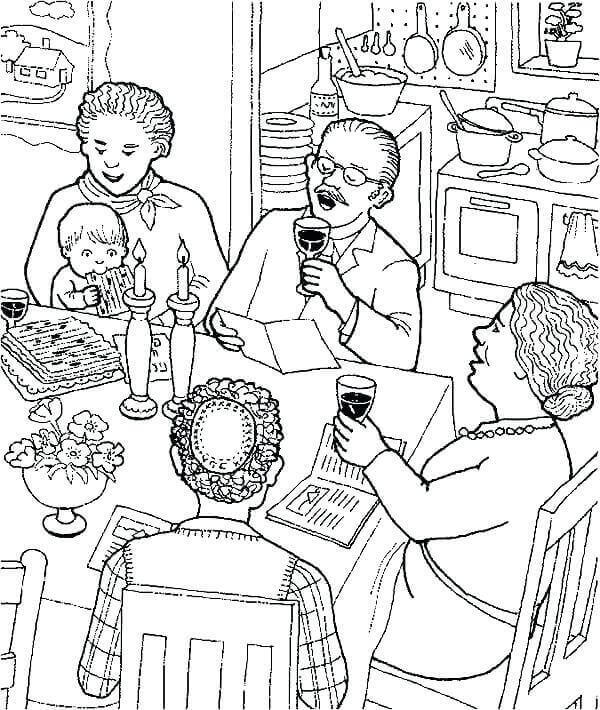 Free Printable Passover Coloring Pages
