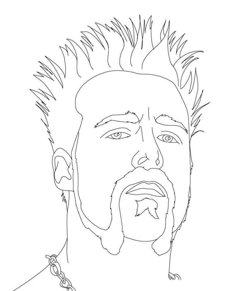 Wwe Sheamus Coloring Pages Coloring Coloring Pages