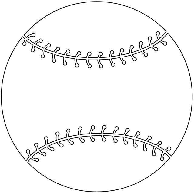14 Free Printable Baseball Coloring Pages