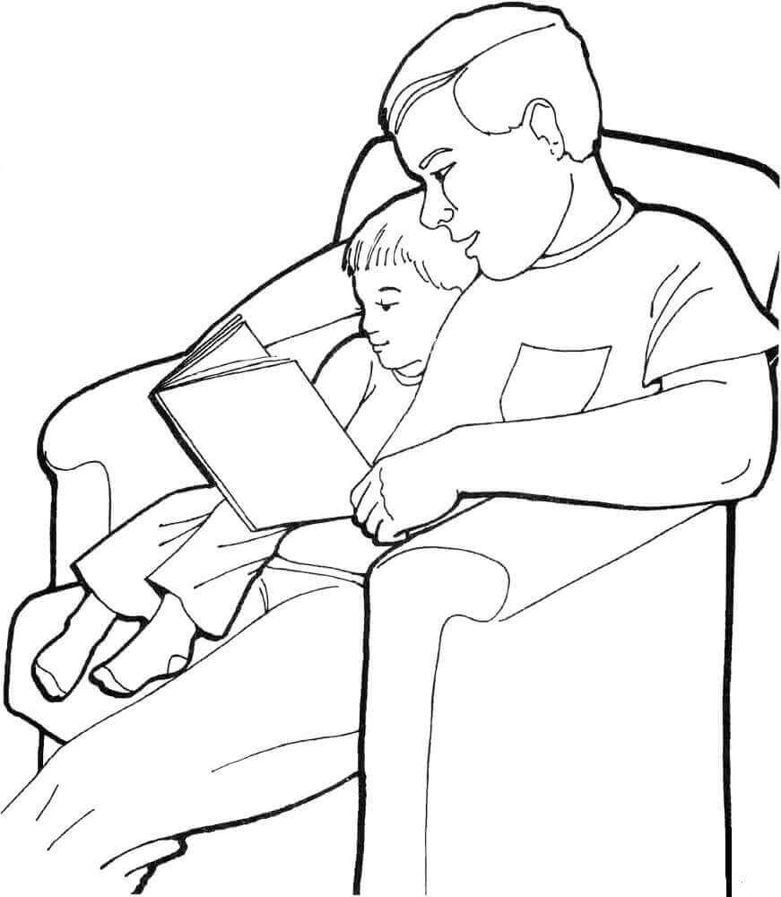 30 Free Printable Father's Day Coloring Pages