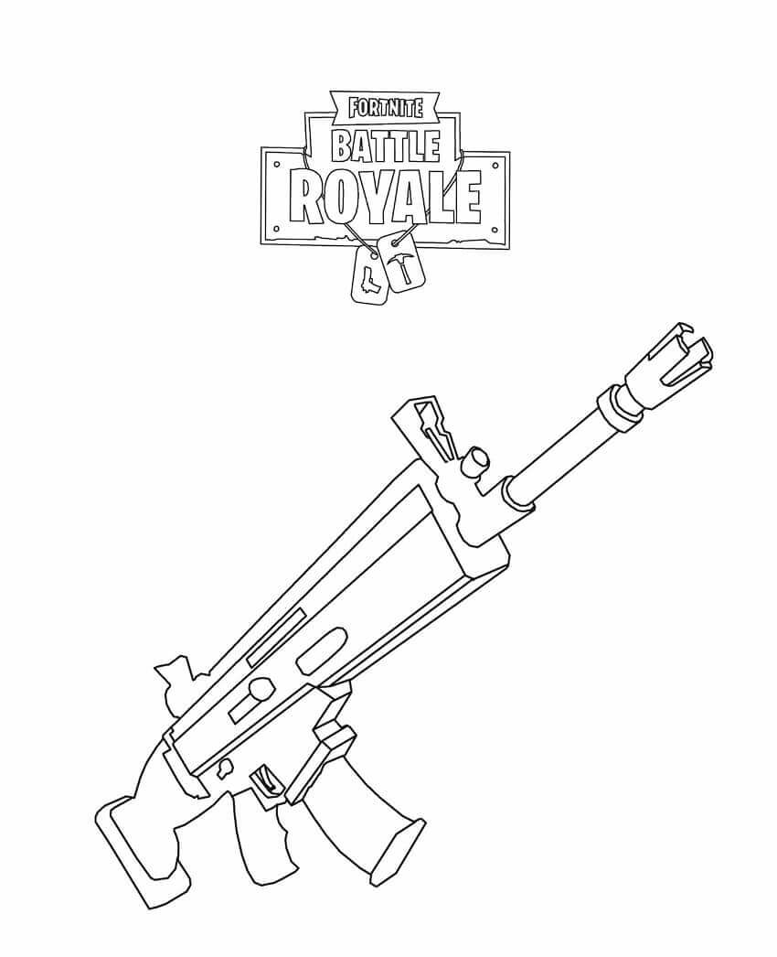 Fortnite Bus Coloring Pages