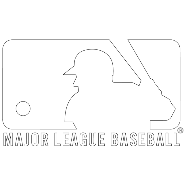 Free Printable Major League Baseball (MLB) Coloring Pages