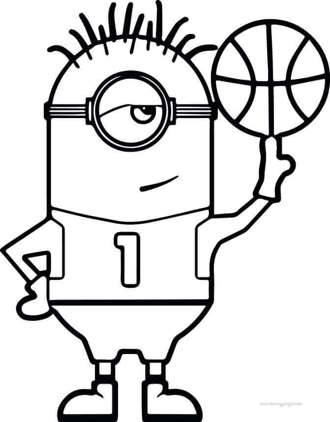 30 Free Printable Basketball Coloring Pages