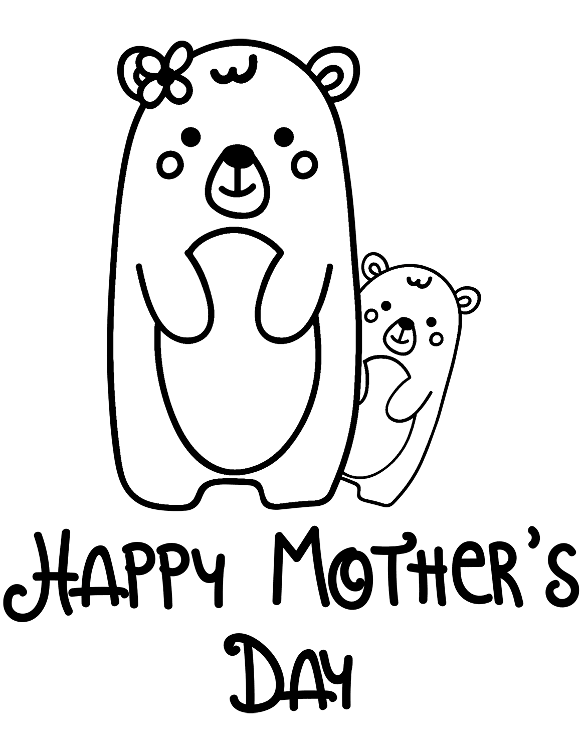 30 Free Printable Mother's Day Coloring Pages
