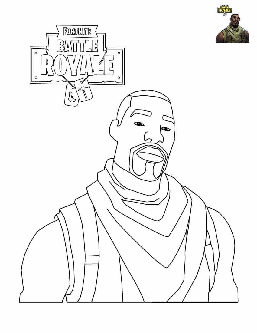 Coloriage Fortnite Dj Lama Auto Electrical Wiring Diagram