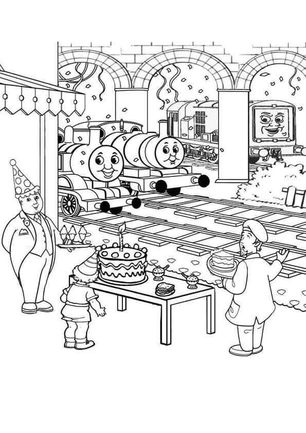 Thomas And Friends Coloring Pages Bill And Ben