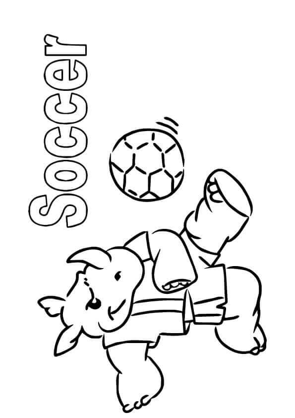 35 Free Printable Football Or Soccer Coloring Pages