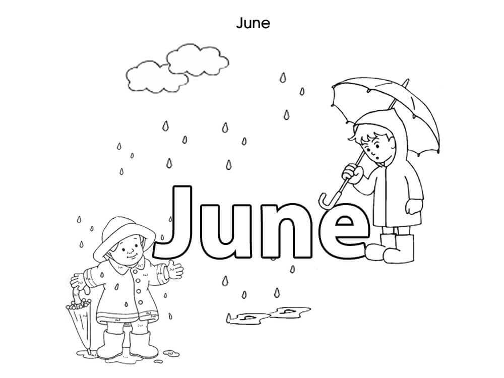 15 Free June Coloring Pages To Print