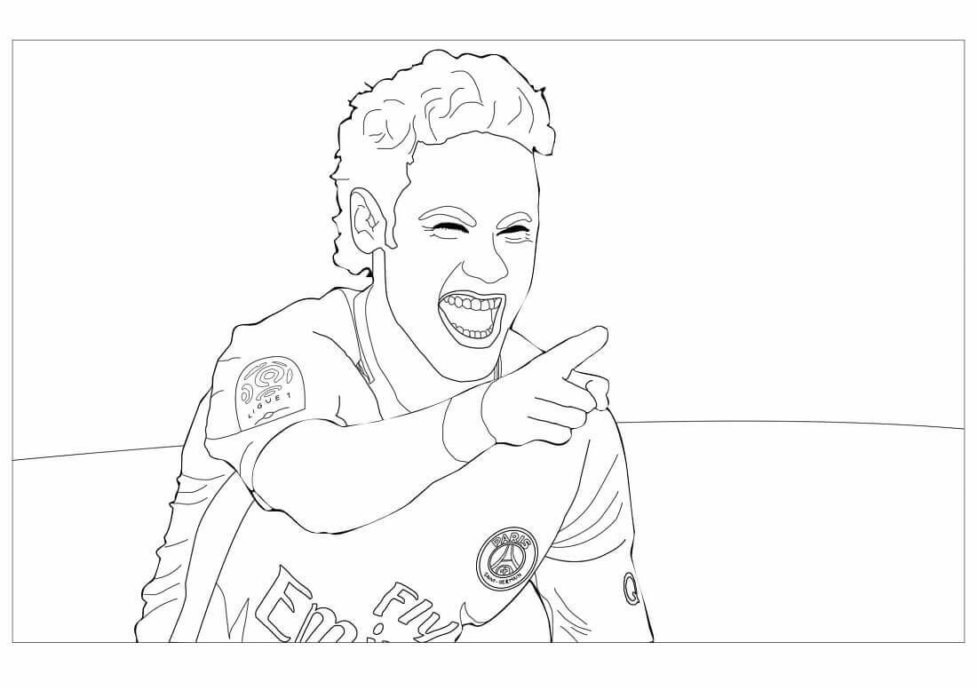 Free Printable FIFA World Cup Coloring Pages