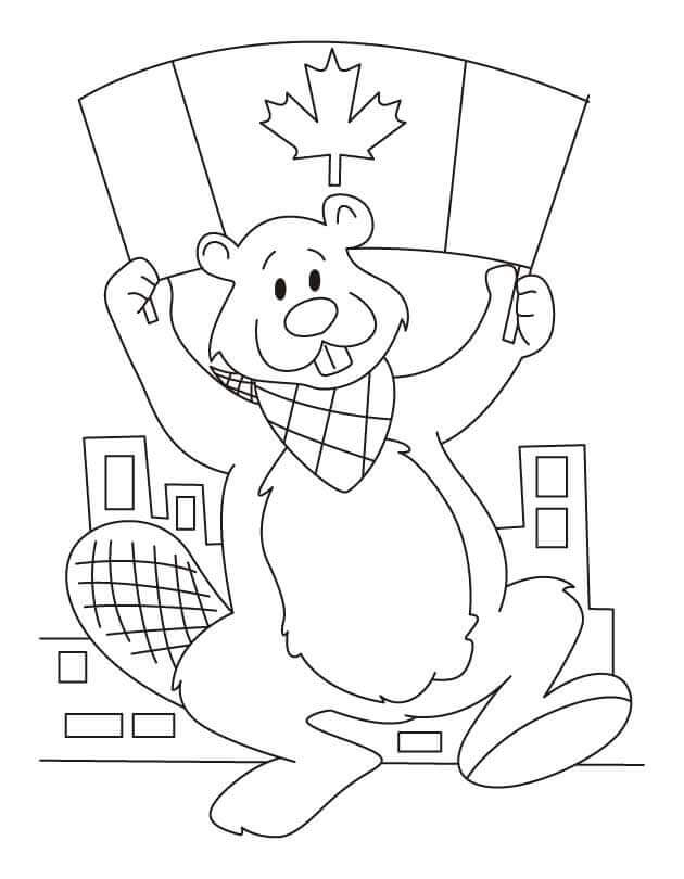 Free Printable Flag Day Coloring Pages