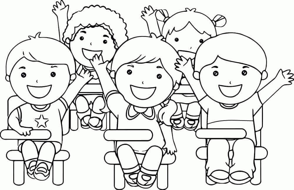 15 Free Printable Children's Day Coloring Pages