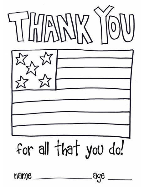 35 Free Printable Veterans Day Coloring Pages