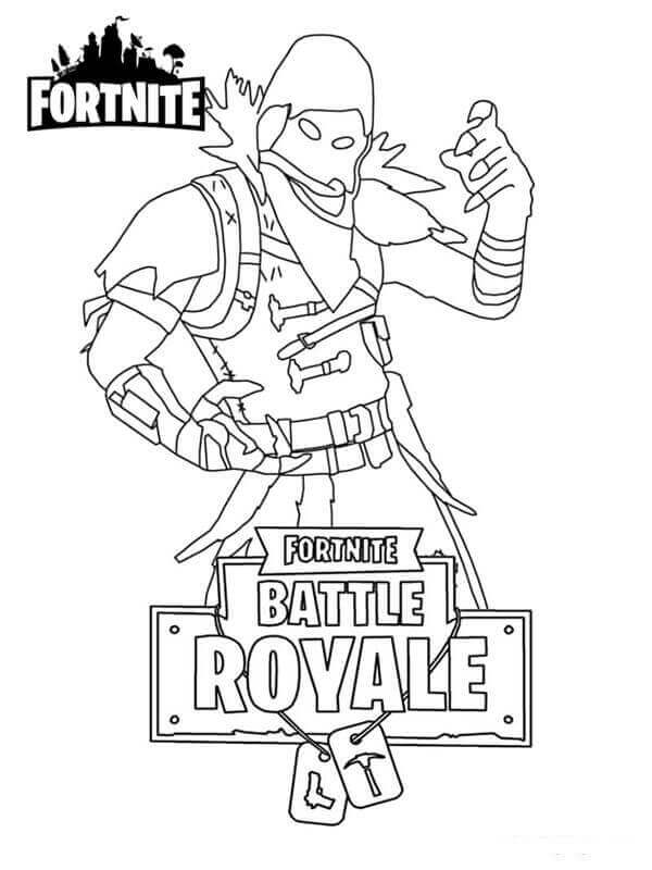 Coloring And Drawing Free Coloring Pages Of Fortnite