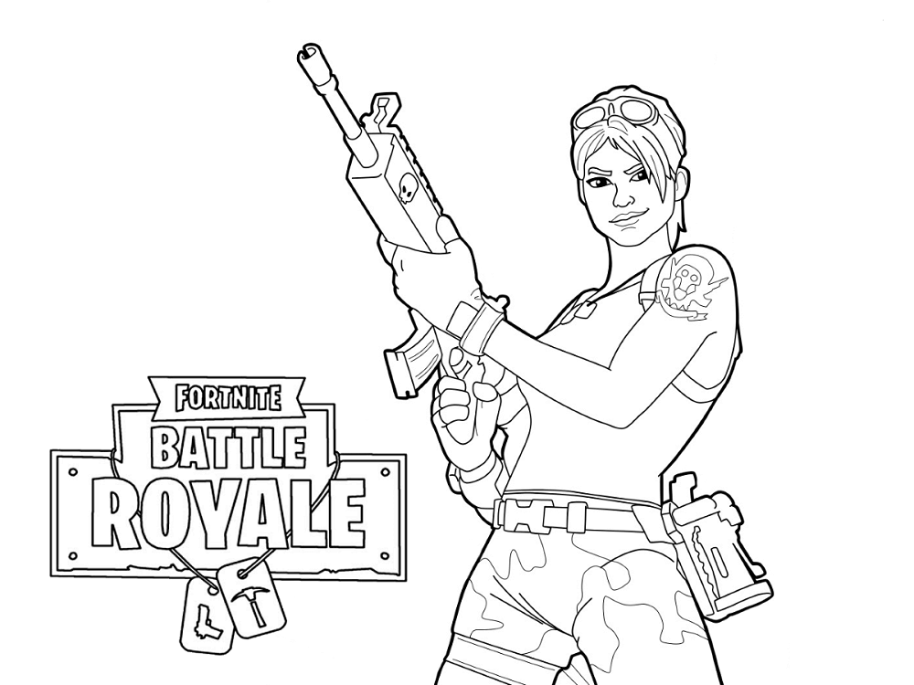 graphic about Free Printable Fortnite Coloring Pages titled 20+ Fortnite Coloring Sheets Unicorn Programs and Patterns