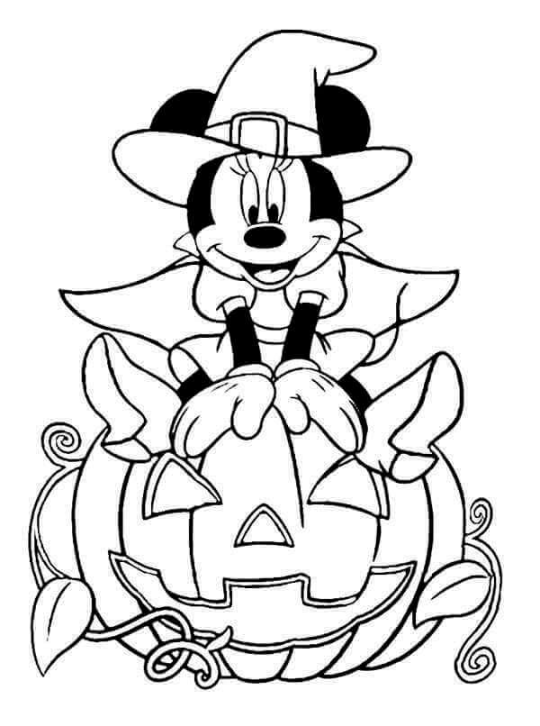 Disney Halloween Coloring Images To Print