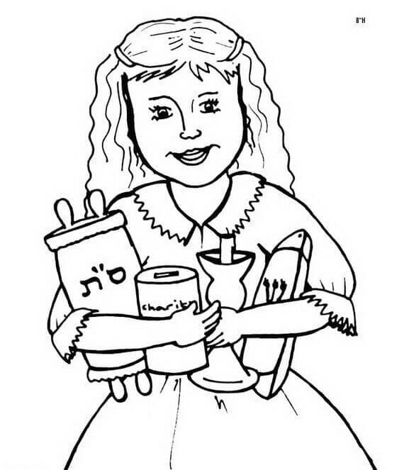 20 Free Printable Rosh Hashanah Coloring Pages