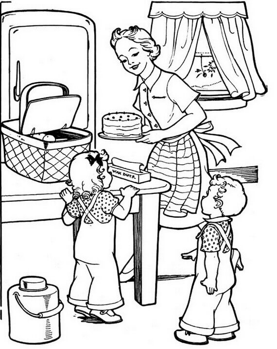 30 Free Printable Grandparents Day Coloring Pages