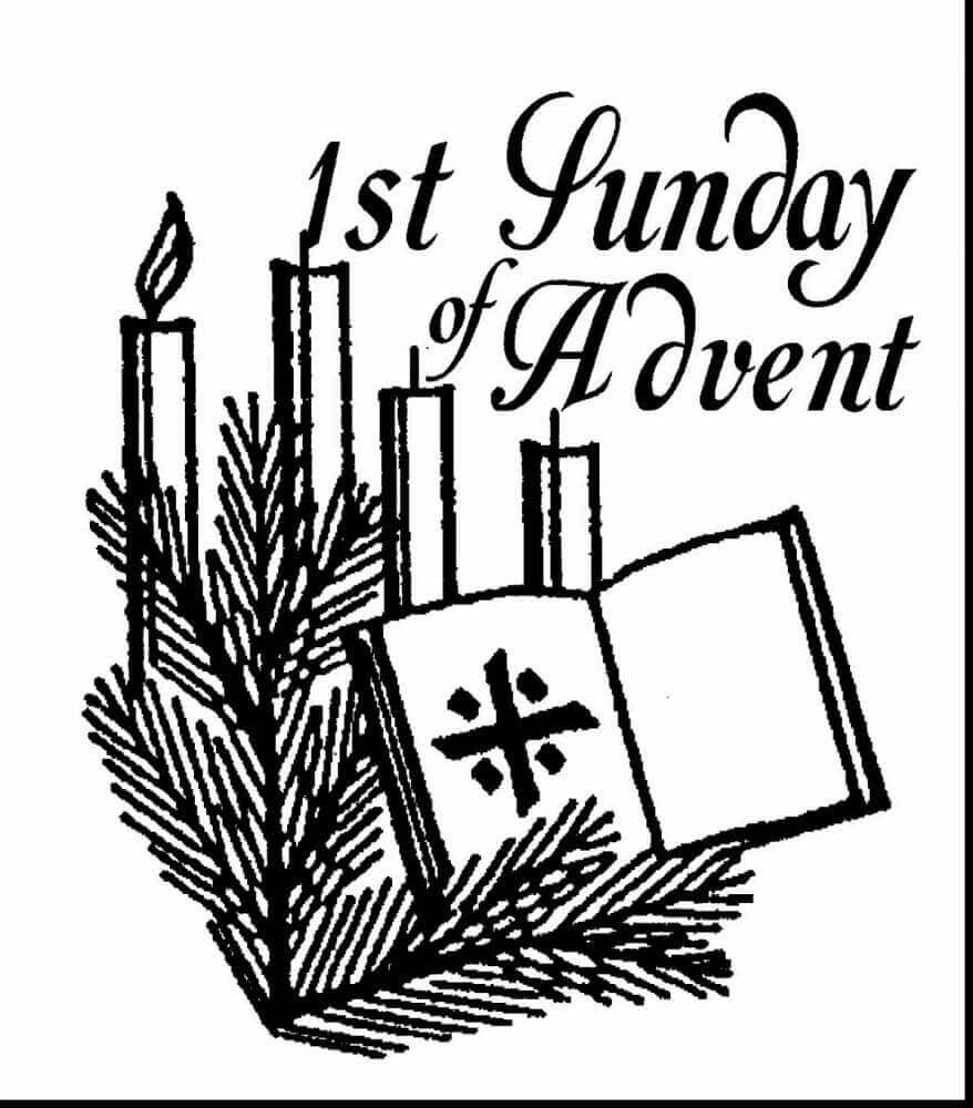 20 Free Christmas Advent Coloring Pages To Print