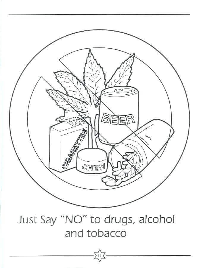 20 Free Red Ribbon Week Coloring Pages To Print