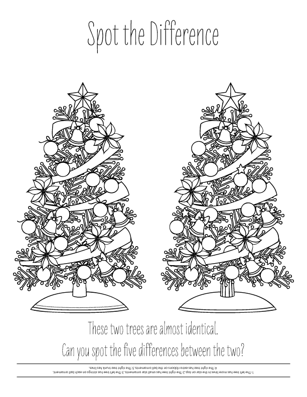 20 Free December Coloring Pages Printable