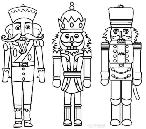 25 Free Nutcracker Coloring Pages Printable