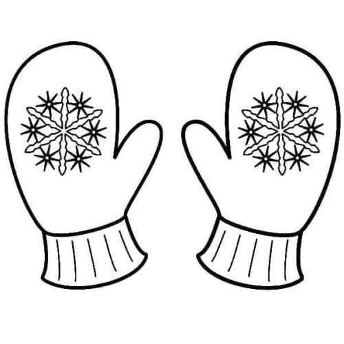 Snowflake Coloring Pages For Kindergarten