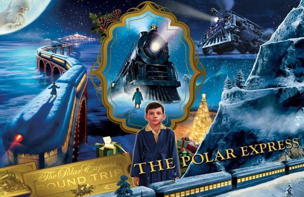 polar express coloring pages free # 47