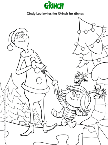 25 How The Grinch Stole Christmas Coloring Pages Printable