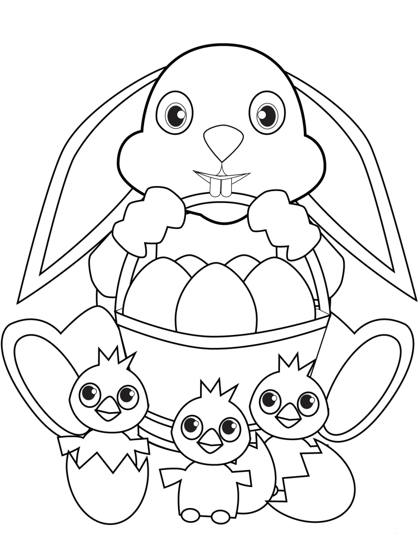 free easter egg coloring pages printable