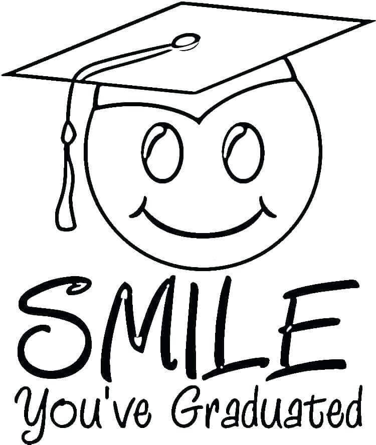 20 Free Kindergarten Graduation Coloring Pages Printable