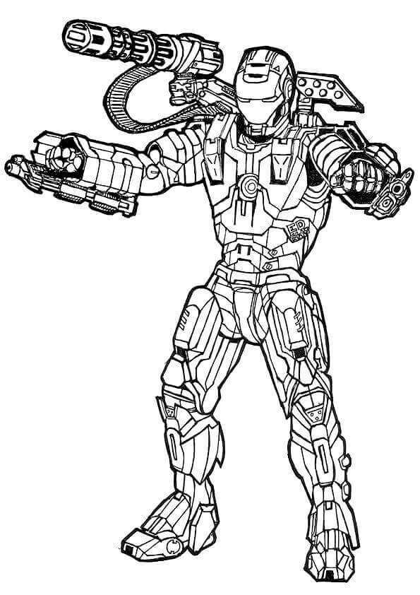 30 Free Avengers Coloring Pages Printable