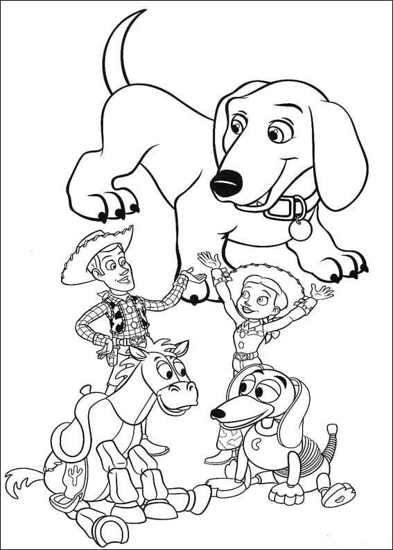 30 Free Printable Toy Story Coloring Pages