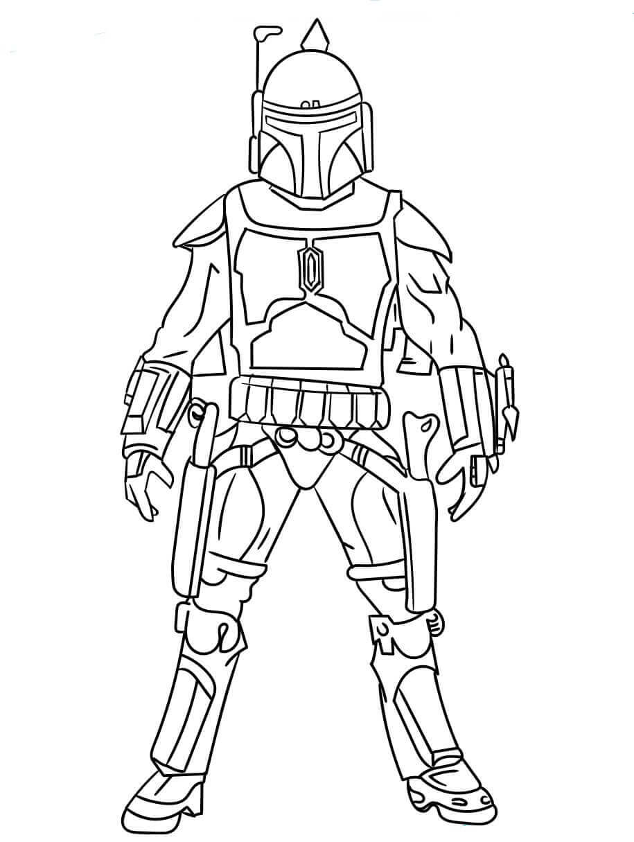 30 Free Star Wars Coloring Pages Printable