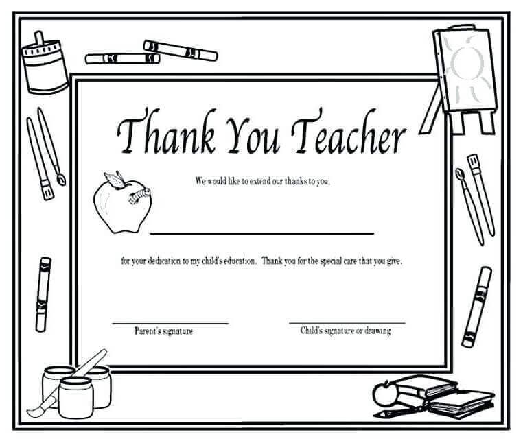 20 Free Teacher's Day Coloring Pages Printable