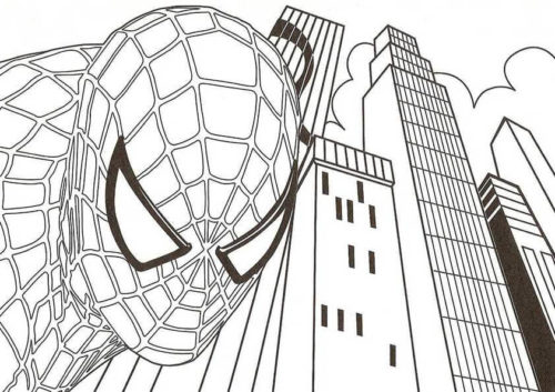 30 Free Spider Man Coloring Pages Printable